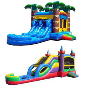 Wet Water Combo Bounce & Slide